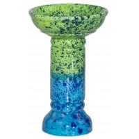 Чаша для Кальяну GrynBowls Marvel Зелено - Блакитна