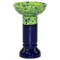 Чаша для Кальяну GrynBowls Marvel Зелено - Синя
