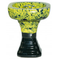 Чаша для Кальяну GrynBowls Hexahedron Зелено - Чорна