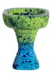 Чаша GrynBowls Hexahedron Зелено - Блакитна