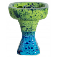 Чаша для Кальяну GrynBowls Hexahedron Зелено - Блакитна