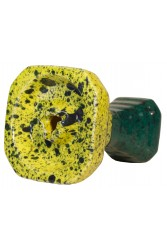 Чаша GrynBowls Hexahedron Зелено - Бірюзовий