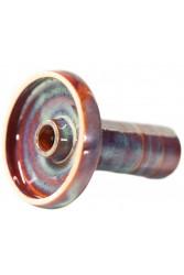 Чаша Gusto Bowls Harmony Glaze II Червоно - Бірюзовий