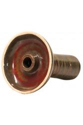 Чаша Gusto Bowls Classic Phunnel Glaze II Червоно - Зелений