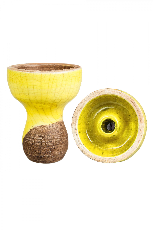 Чаша для Кальяну Karma Фанел Жовта