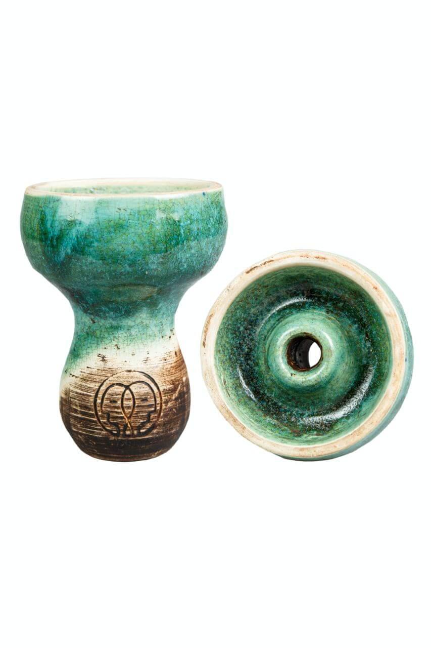 Чаша для Кальяну Karma Фанел Зелена