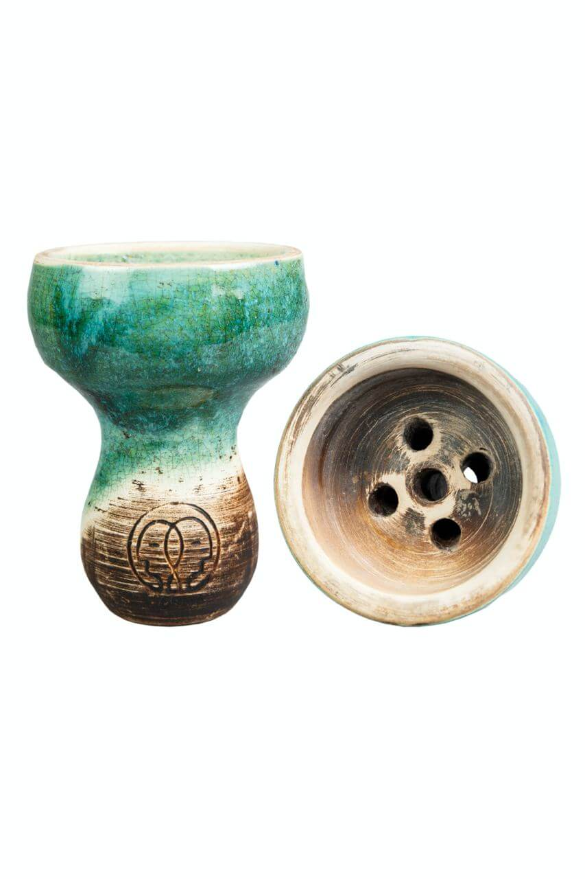 Чаша для Кальяну Karma Турка Зелена