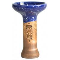 Чаша для Кальяну Облако Phunnel M Glaze top Синій Космос
