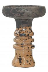 Чаша для Кальяну Tor Harmony Clay Чорно-світло-коричнева