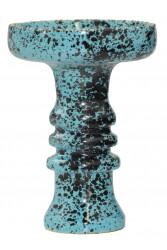 Чаша для Кальяну Tor Harmony Glaze Чорно-блакитна
