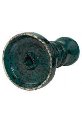 Чаша для Кальяну Tor Harmony Glaze Чорно-темно-зелена