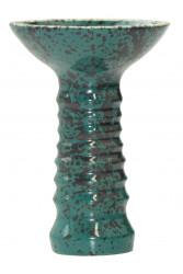 Чаша для Кальяну Tor Alien Glaze Черно-зелена