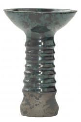 Чаша для Кальяну Tor Alien Glaze Черно-темно-зелена