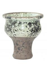 Чаша для Кальяну Tor Classic Glaze Чорно-болотна