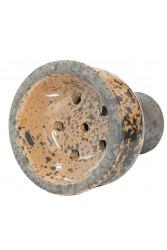 Чаша для Кальяну Tor Classic Glaze Чорно-світло-коричнева