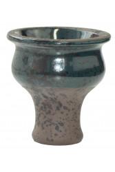 Чаша для Кальяну Tor Classic Glaze Чорно-темно-зелена
