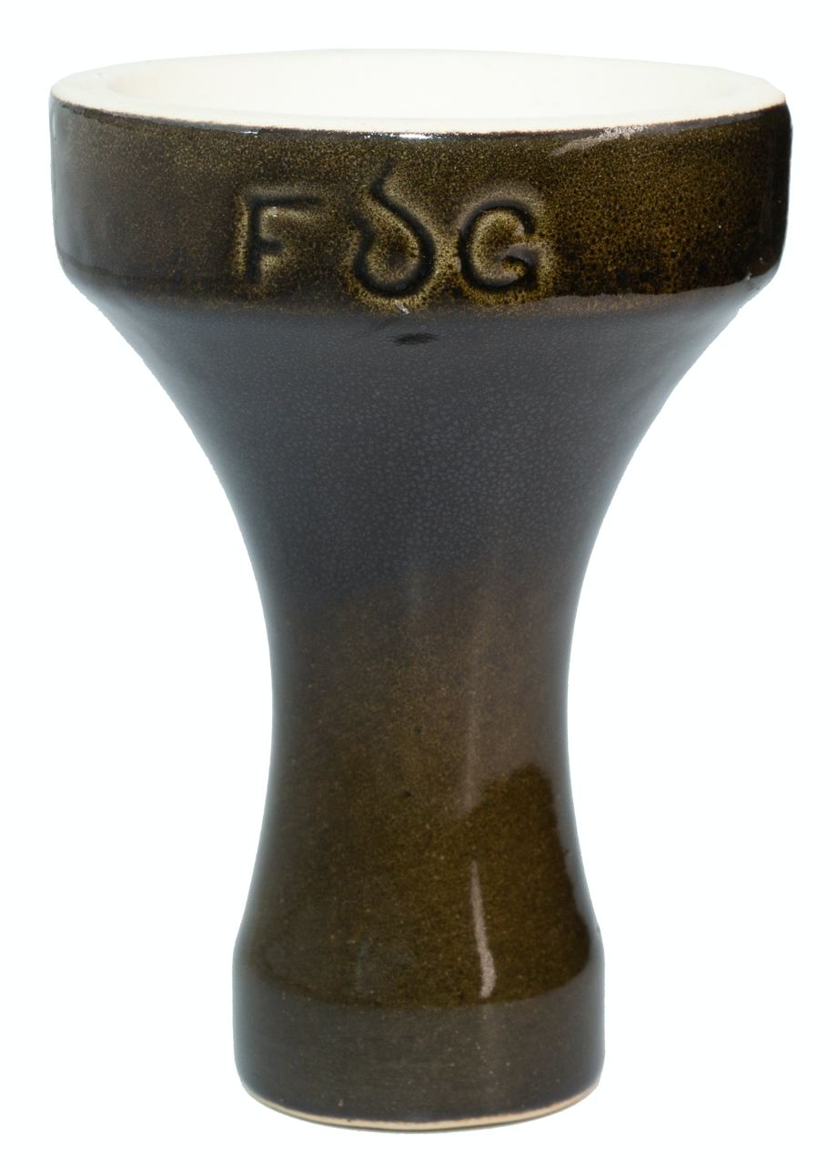 Чаша для Кальяну Fog Assassin Semi-Glazed Темно-зелена
