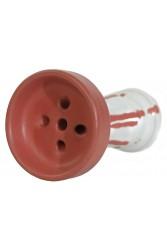 Чаша RS GS (Give me Smoke) Mat Edition Біло - червоний
