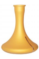 Колба для Кальяну Craft Золото Мат з Просвітом