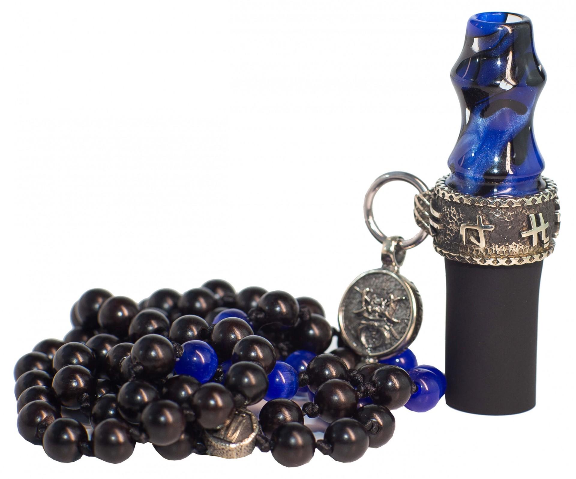 Персональний мундштук Japona Samurai Blue Beads