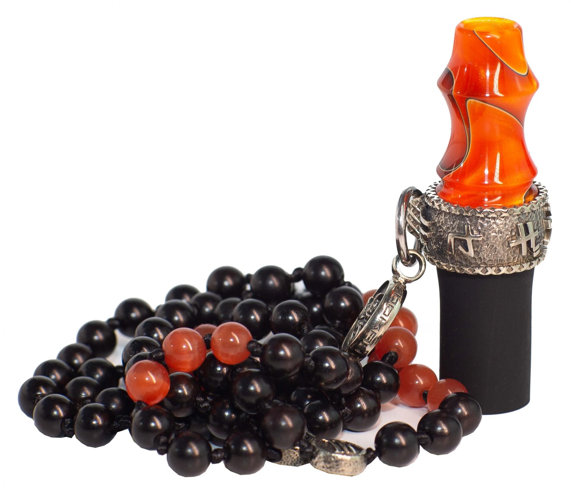 Персональний мундштук Japona Samurai Orange Beads