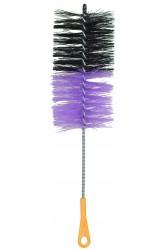 Йоршик для колби Hate XL з пластиковою ручкою Чорно - фіолетовий
