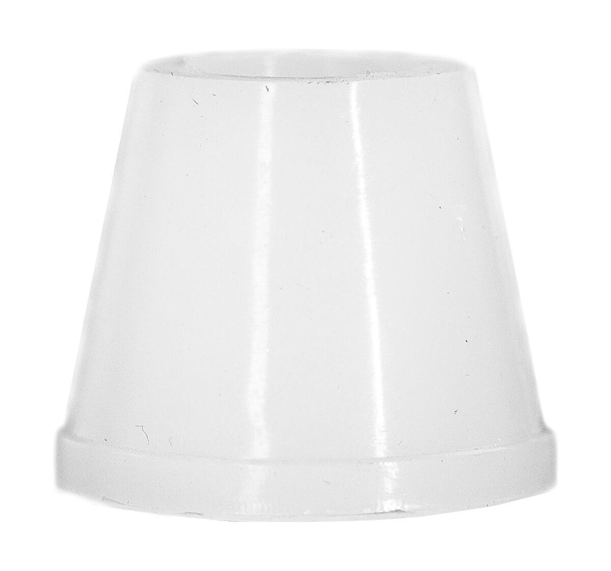 Ущільнювач для чаші з ребрами Силіконовий Білий