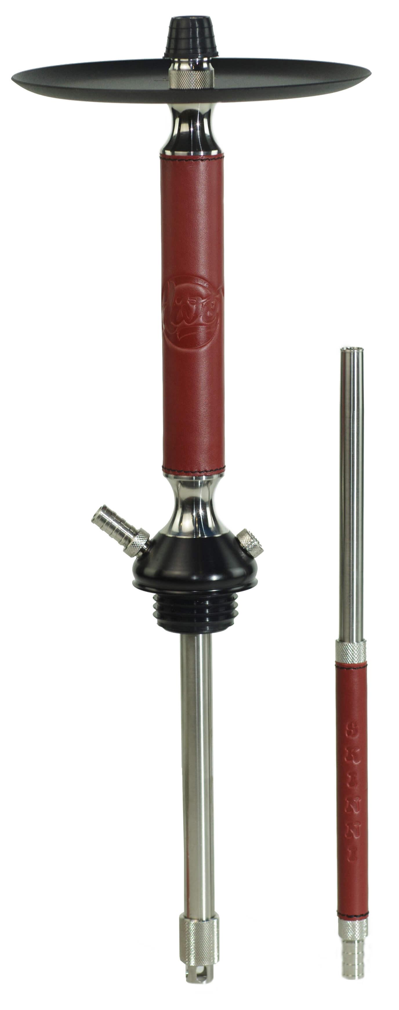 Кальян Divo Skinni K2 Червоний (Чорне блюце)
